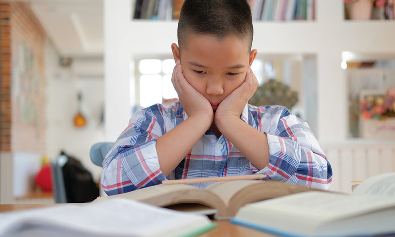 Homework may cause a mental breakdown?